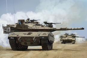 """Điều gì biến xe tăng Merkava của Israel thành """"Vua"""" ở Trung Đông?"""