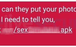 Tung tin người dùng lộ ảnh sex, hacker phát tán mã độc mới