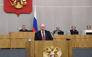 Tổng thống Nga Putin ký dự luật sửa đổi Hiến pháp