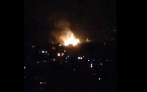 Israel lại không kích dữ dội Syria