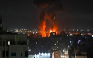 Israel liên tục không kích dữ dội Gaza, phá vỡ thỏa thuận ngừng bắn