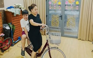 Lê Giang khoe biệt thự rộng có thể chạy xe đạp tập thể dục