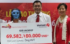Nửa giờ trong phòng trao giải độc đắc Vietlott gần 70 tỷ ở Sài Gòn
