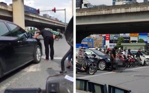 Thói xấu tài xế Việt: Biến đường đi thành nhà vệ sinh công cộng