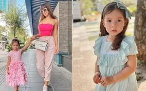 Con gái lai Tây của Hà Anh gần 3 tuổi đã cao vống