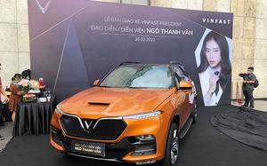 """Đả nữ Ngô Thanh Vân tậu """"xe chủ tịch"""" VinFast President gần 4 tỷ"""