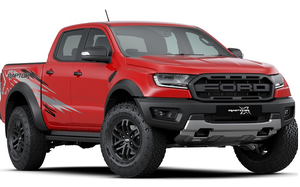 Ford Ranger Raptor X Special Edition từ 1,232 tỷ đồng tại Malaysia