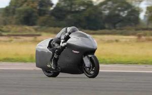 """""""Thần gió"""" Suzuki Hayabusa độ turbo sẽ lập kỷ lục tốc độ 482km/h"""