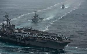 Trung Quốc không còn dám đưa máy bay áp sát tàu sân bay Mỹ