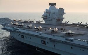 Sức mạnh tàu sân bay Anh với tiêm kích F-35B Mỹ đang tới biển Đông