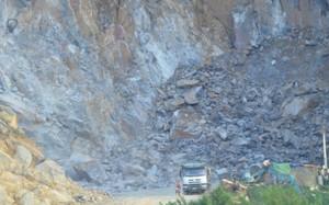 Sập mỏ đá tại Công ty Havico Hà Nam, 2 người chết