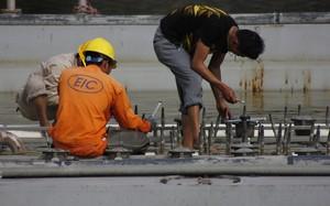 Ảnh: Tháo dỡ công trình nhạc nước 200 tỷ tai tiếng ở Hải Phòng