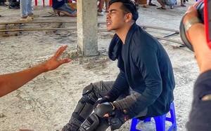 Diễn viên Thanh Bình bị chấn thương nặng khi quay cảnh nhảy cao 2m