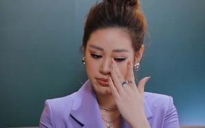 Hoa hậu Khánh Vân rơi nước mắt kể suýt bị xâm hại tình dục