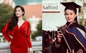 HH Lê Âu Ngân Anh tuổi 26: Xinh, sang, sẽ học lên tiến sĩ