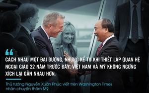 Những phát ngôn ấn tượng của Thủ tướng trong chuyến thăm Mỹ