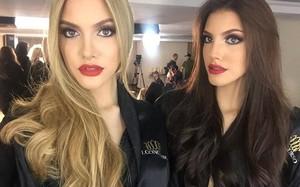 Em gái sinh đôi nóng bỏng của tân Hoa hậu Hòa bình Quốc tế