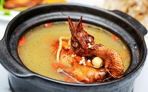 Siêu hấp dẫn set ăn từ bồ câu, đuôi bò thịt dê