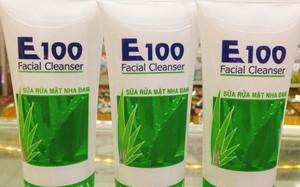 Kem bôi da Thuần Mộc, Sữa rửa mặt nha đam E100 không đạt chất lượng: Xài... hỏng da?