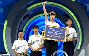 Olympia năm thứ 22 đổi luật chơi, nam sinh Thái Bình giành chiến thắng đầu tiên