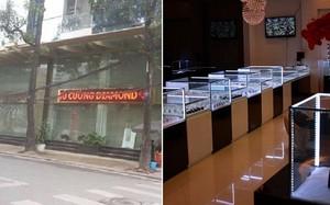 Soi quy mô cửa hàng vàng Phú Cường nghi buôn lậu kim cương