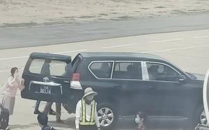 Xe biển xanh vào máy bay đón Phó Bí thư Phú Yên: Cục Quản lý công sản lên tiếng