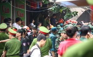 Hiện trường vụ sập nhà cổ Trần Hưng Đạo chấn động HN