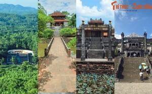 """Lăng mộ các hoàng đế nào vừa """"nhập hộ khẩu"""" thành phố Huế?"""