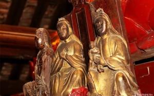 Tận mục những pho tượng độc đáo trong ngôi chùa cổ ở Nam Đàn