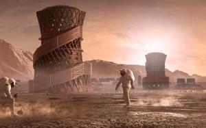 Sốc: Phát hiện nơi có thể sinh sống, xây căn cứ trên sao Hỏa