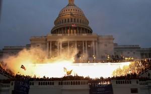 Điện Capitol réo báo động, phong tỏa ngay lập tức vì cháy