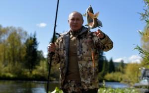 Tổng thống Putin kết thúc tự cách ly, đến Siberia câu cá