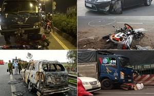 Những vụ tai nạn giao thông thảm khốc tuần qua (30/5 - 4/5/2016)