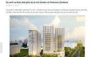 Hạ bệ đối thủ, quảng cáo của Iris Garden - Vimefulland có sai luật?