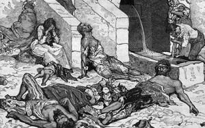 """Những cách """"dị"""" chữa bệnh khi đại dịch Cái chết đen bùng phát"""