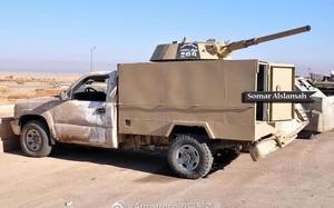 Chiến trường Syria: Gắn tháp pháo BMP-1 gắn trên thùng xe bán tải