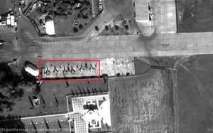 Máy bay tác chiến đặc biệt của Nga được phát hiện tại Syria