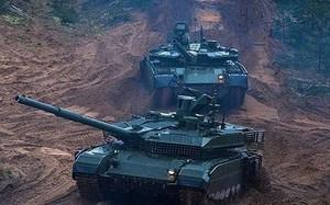 Vì sao Nga tăng cường hàng trăm xe tăng T-90M cho Quân khu phía Nam?