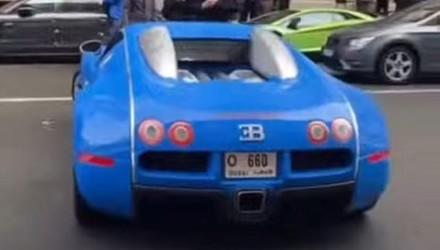 "Bugatti Veyron ""chạm"" Lamborghini Aventador - phí sửa cả trăm triệu"