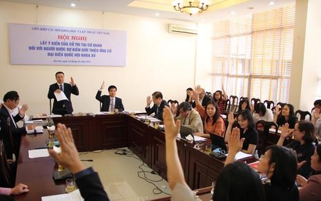 Chủ tịch VUSTA Phan Xuân Dũng được giới thiệu ứng cử Đại biểu Quốc hội khoá XV