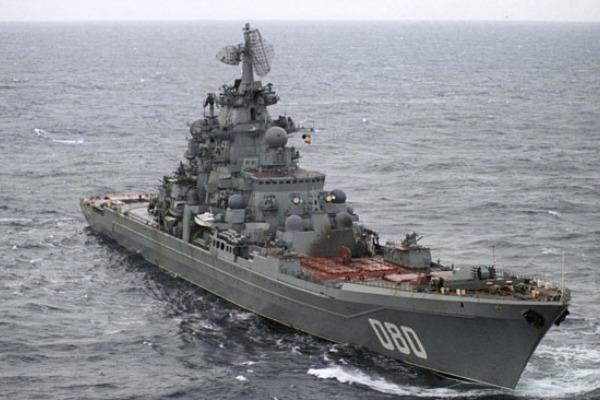 """Tuần dương hạm """"Đô đốc Nakhimov"""" của Nga """"tái xuất"""" gây nhiều tranh cãi"""