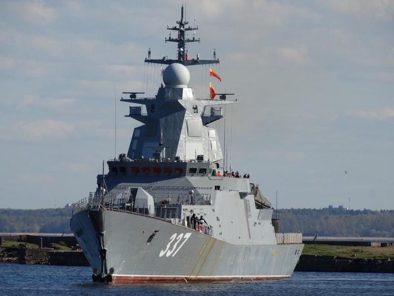 Hộ vệ hạm Nga mất 8 năm đóng mới mạnh tới nhường nào?