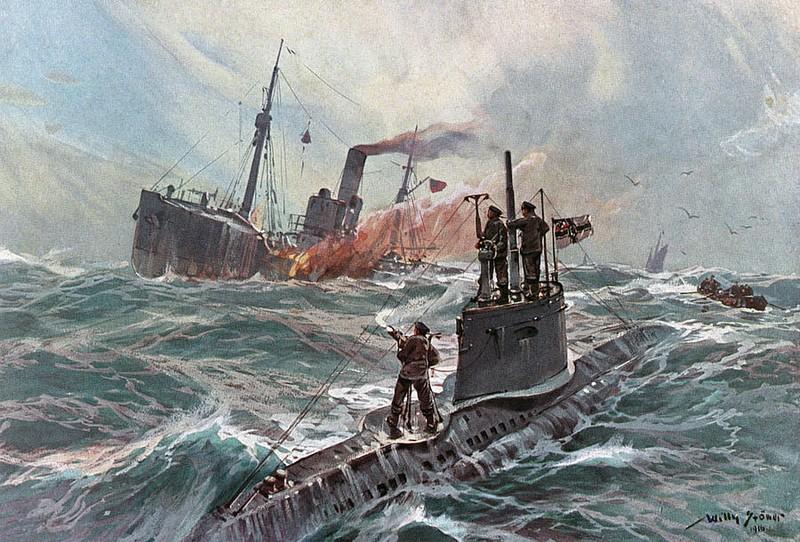 Sự khổ sở của thủy đoàn tàu ngầm U-boat trong CTTG2