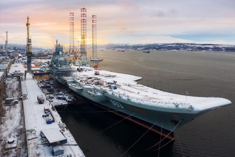 Kuznetsov quá già cỗi, Mỹ khuyên Nga từ bỏ giấc mơ tàu sân bay