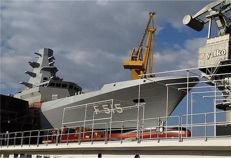 Thổ Nhĩ Kỳ hạ thuỷ khinh hạm tàng hình lớp Istanbul đầu tiên