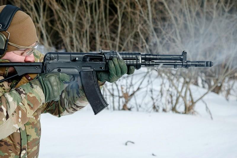 Mẫu súng hiện đại hơn AK-74 nhưng vẫn bị Nga cho