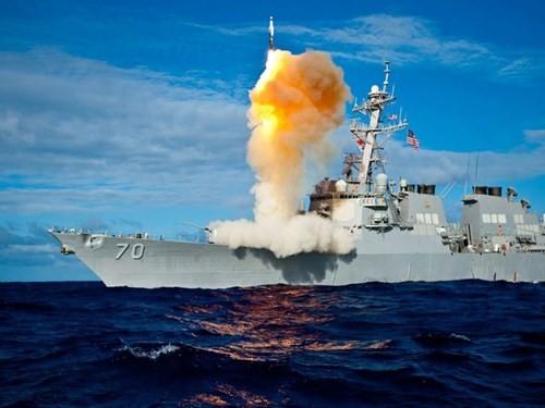 Hệ thống Aegis của tàu chiến Mỹ có đánh chặn được tên lửa Kh-32