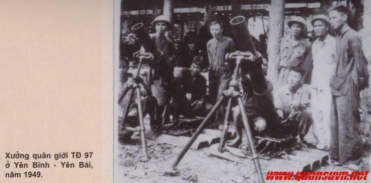 Những loại súng cối Việt Minh sử dụng trong Kháng chiến chống Pháp