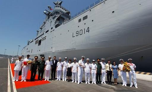 Loạt tàu chiến Pháp đang vào Biển Đông, có chiếc từng tới Việt Nam