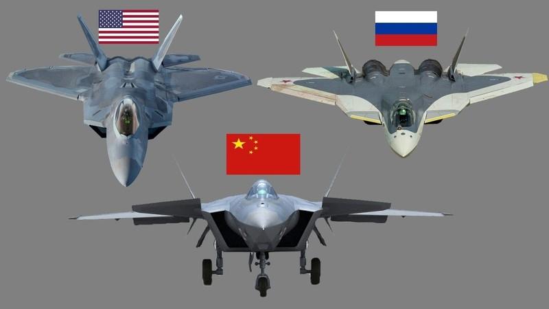 Điều gì khiến tiêm kích Su-57 nhỉnh hơn F-22 và vượt xa J-20?